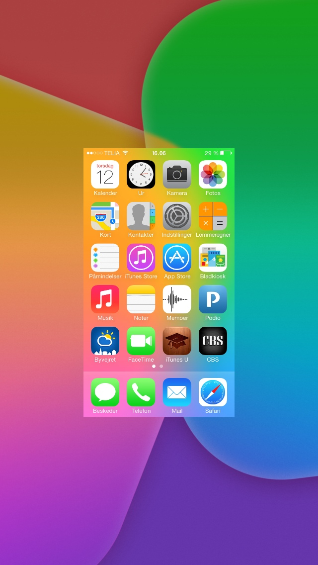 Glæd dig til iOS 7
