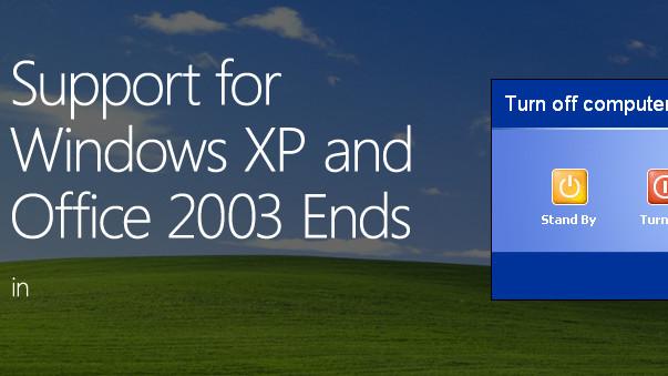 Windows XP Support End om under en måned
