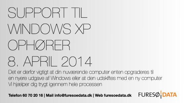 Support til Windows XP ophører – sådan skal du forholde dig