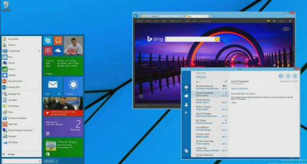 Start menu i Windows 8 er snart tilbage