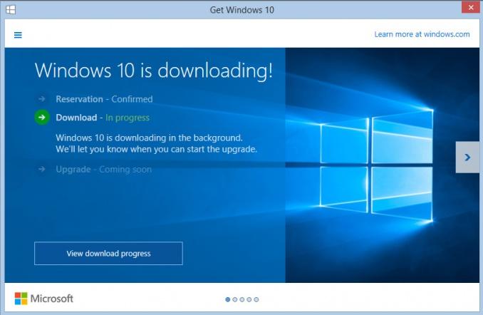 Windows 10 anvender fildeling mellem brugere til distribuering af installationsfiler